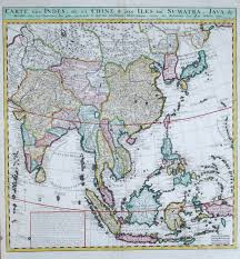 Map East Asia by Rare Old Antique Maps Far East General The Virtual Antique