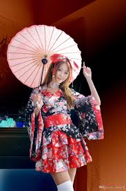 sakura japanese kimono cosplay costume cos anime role playing and