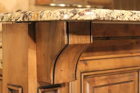 Kitchen Cabinet Corbels Features Out Of The Woods Custom Cabinetry