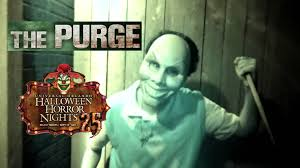 halloween horror nights vr the purge haunted house maze walk through halloween horror nights