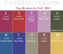 10 pantone fall 2014 wedding colors