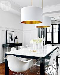 Contemporary Dining Room Lighting Dining Room White Dining Rooms Modern Room Decor Furniture