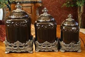 brown kitchen canisters brown canisters kitchen awesome design brown kitchen