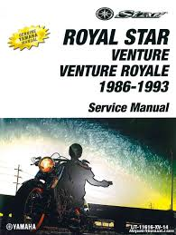 xvz1300 venture yamaha motorcycle service manual 1986 1993