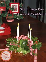 santa lucia day books and traditions catholic advent pinterest