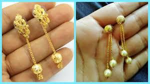 gold earrings for women daily wear gold earrings designs for indian women