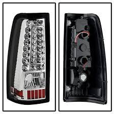 chevy silverado led tail lights 02 chevy silverado gmc sierra c style led tail lights chrome