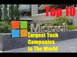 Top Design Firms In The World Top 10 Largest Tech Companies In The World Youtube