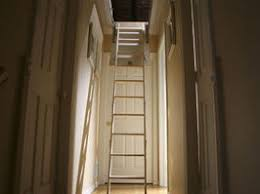 attic works attic stair installation