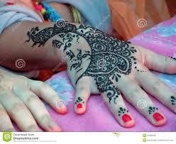 henna tattoo stock afbeelding afbeelding bestaande uit henna