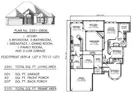 50 Sq Ft Bathroom by 3 Bedrooms 2250 2800 Square Feet