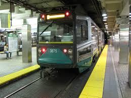 Boston T Map Green Line by Boston Transportation Curbed Boston