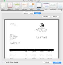 Remodeling Estimate Template by Start Winning At Billing With Billings Pro Mac Appstorm