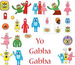 yo gabba gabba birthday party invitations gabba friends yo