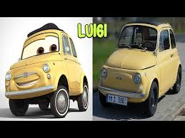 cars characters yellow cars characters in real life youtube