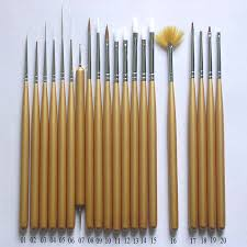 Top Nail Art Brushes Nail Design Art  Httpwwwdealshopcom - Nail design tools at home
