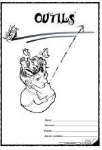 Pages de garde cahier outils  Ecole  Pinterest