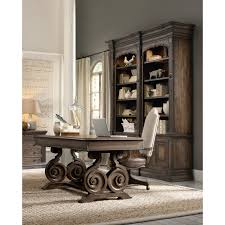 Rustic Writing Desk by Hooker Furniture Grand Palais Writing Desk Brown Hayneedle