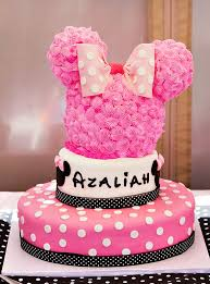 minnie mouse birthday cake polka dot pink minnie mouse birthday party hostess with