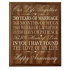 year anniversary gift 30th anniversary gift ideas parents 30 year