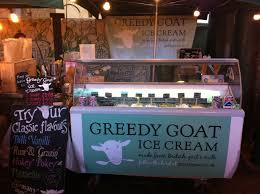 borough market plan greedy goat ice cream made from british goat u0027s milk