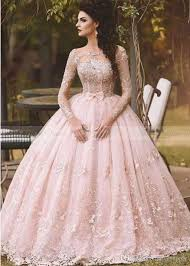 Low Cost Wedding Dresses Discount Vestido De Novia 2017 Country Blush Pink Lace Ball Gown