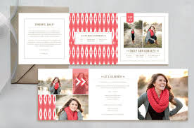 senior graduation announcement templates graduation announcement template trifold graduation card