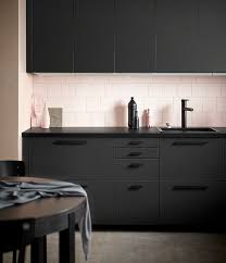 Black Kitchens First Look Ikea February 2017 New Product Releases Kitchens