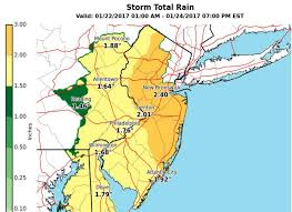 National Weather Forecast Map Nor U0027easter Triggers Winter Storm And Flood Watches In N J Nj Com