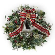 mackenzie childs highland wreath large