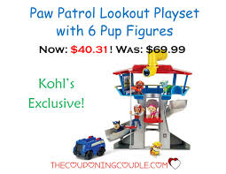 target paw patrol lookout black friday paw patrol lookout playset with 6 pup figures only 40 31 was