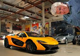 wrapped cars watch as jay leno u0027s mclaren p1 gets wrapped car blog