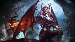 halloween mercy 4k background succubus full hd wallpaper and background 1924x1080 id 669196