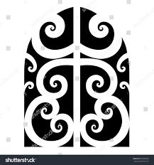 tattoo maori vector designstribal tattoos art stock vector