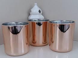 rose gold appliances metallic rose gold jar u2013 ds candles