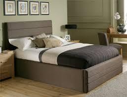 Solid Wood Platform Bed Bedroom Real Wood Beds Storage Bed Contemporary Platform Bed