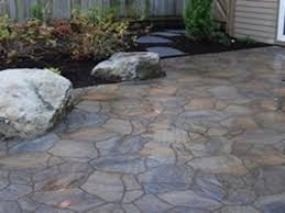 Recycled Rubber Patio Tiles by Outdoor Patio Stones Home Design Ideas And Pictures