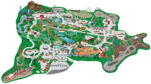 Great America Map by Cell City Thinglink