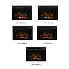 dimplex 33 in multi fire xd plug in electric fireplace insert