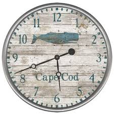 Personalized Picture Clocks Nautical Wall Clocks You U0027ll Love Wayfair