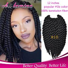 senegalese twist using marley hair marley crochet braid hair extension 12 80g havana mambo crochet