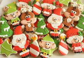 santa and friends christmas cookies u2013 the sweet adventures of