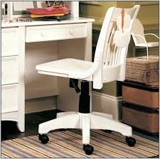 Rolling Chair Design Ideas The Fancy White Wooden Desk Chair On Home Design Ideas With