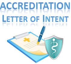 accreditation letter of intent loi template library