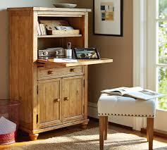Armoire Office Desk Cortona Office Armoire Pottery Barn