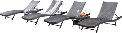 wade logan noelle 6 piece wicker chaise lounger set u0026 reviews