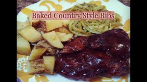 baked boneless country style ribs how to make country style ribs
