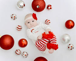my little u0027s first christmas christmas photo shoot with