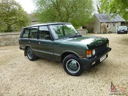 land rover classic for sale 1992 range rover classic vogue se automatic genuine overfinch 570ti