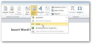 Count Word In Document How To Use Field Codes In Ms Word To Create Word Counts